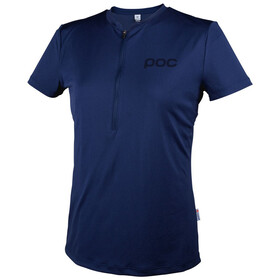 POC W's Trail Light Zip Tee Boron blue